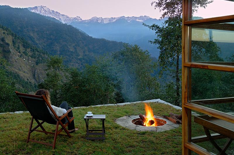 Fireside at Shakti 360 Leti