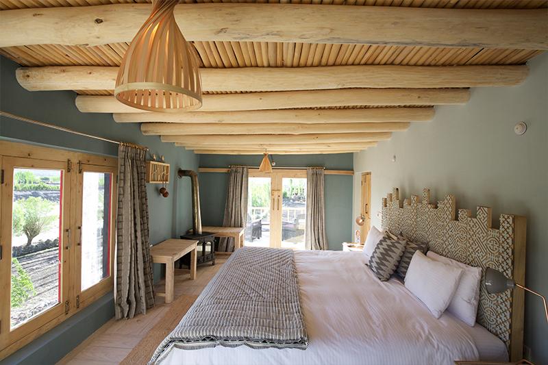 Bedroom at Shakti Ladakh